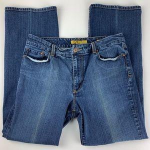 Seven7 Womens Jeans Womens 16 Bootcut Hi Ris Tall?